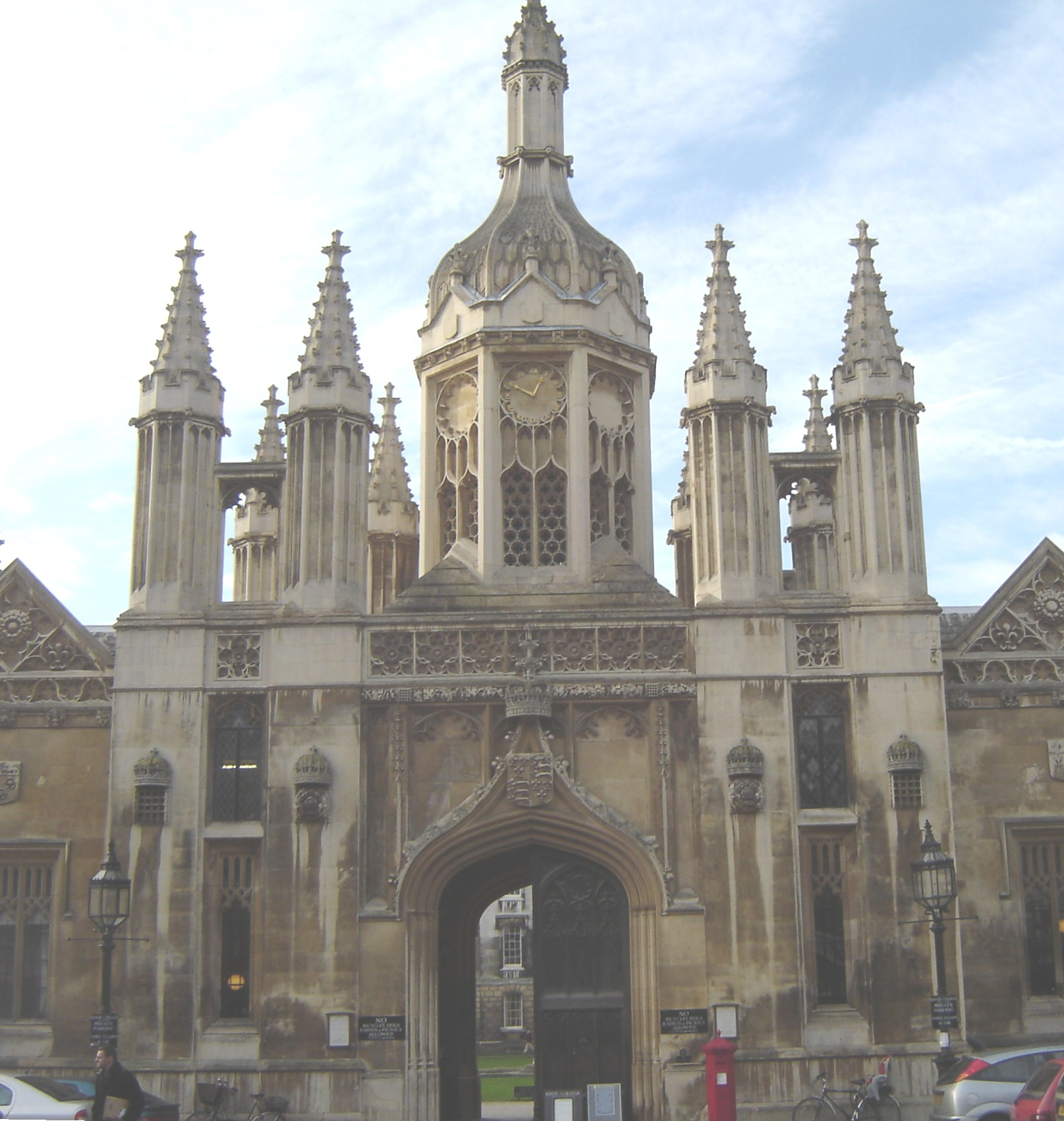 An Entrance to Kings College Cambridge